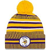 New Era Men's Minnesota Vikings Sideline Home Sport Pom Knit