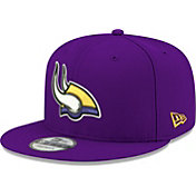 New Era Men's Minnesota Vikings Elemental 9Fifty Adjustable Purple Hat