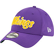 New Era Men's Minnesota Vikings Sideline Home 39Thirty Stretch Fit Hat