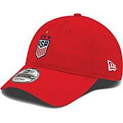 New Era Men's 2019 FIFA Women's World Cup Champions USA Soccer 4-Star 9Twenty Adjustable Red Hat