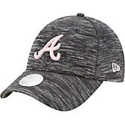 New Era Women's Atlanta Braves Gray 9Forty Tech League Adjustable Hat