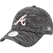 New Era Women's Atlanta Braves Gray 9Forty Tech League Adjustable Hat