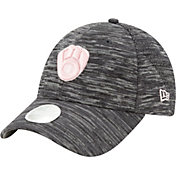 New Era Women's Milwaukee Brewers Gray 9Forty Tech League Adjustable Hat