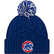 New Era Women's Chicago Cubs Cozy Cable Knit Hat