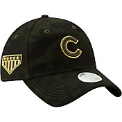 New Era Women's Chicago Cubs 9Twenty Armed Forces Adjustable Hat