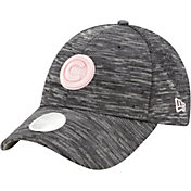 New Era Women's Chicago Cubs Gray 9Forty Tech League Adjustable Hat