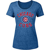 New Era Women's Chicago Cubs Tri-Blend T-Shirt