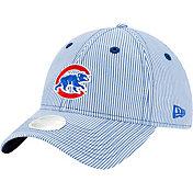 New Era Women's Chicago Cubs Blue Preppy 9Twenty Adjustable Hat