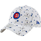 New Era Women's Chicago Cubs White Blossom 9Twenty Adjustable Hat