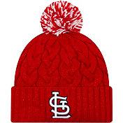 New Era Women's St. Louis Cardinals Cozy Cable Knit Hat