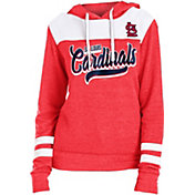 New Era Women's St. Louis Cardinals Tri-Blend Pullover Hoodie