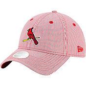 New Era Women's St. Louis Cardinals Red Preppy 9Twenty Adjustable Hat