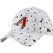 New Era Women's Arizona Diamondbacks Blossom 9Twenty Adjustable White Hat