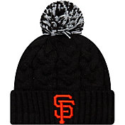 New Era Women's San Francisco Giants Cozy Cable Knit Hat