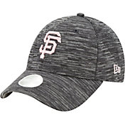 New Era Women's San Francisco Giants Gray 9Forty Tech League Adjustable Hat