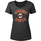 New Era Women's San Francisco Giants Tri-Blend T-Shirt