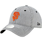 New Era Women's San Francisco Giants Black Preppy 9Twenty Adjustable Hat