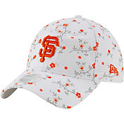 New Era Women's San Francisco Giants White Blossom 9Twenty Adjustable Hat