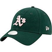 New Era Women's Oakland Athletics Green Core Classic 9Twenty Adjustable Hat