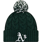 New Era Women's Oakland Athletics Cozy Cable Knit Hat