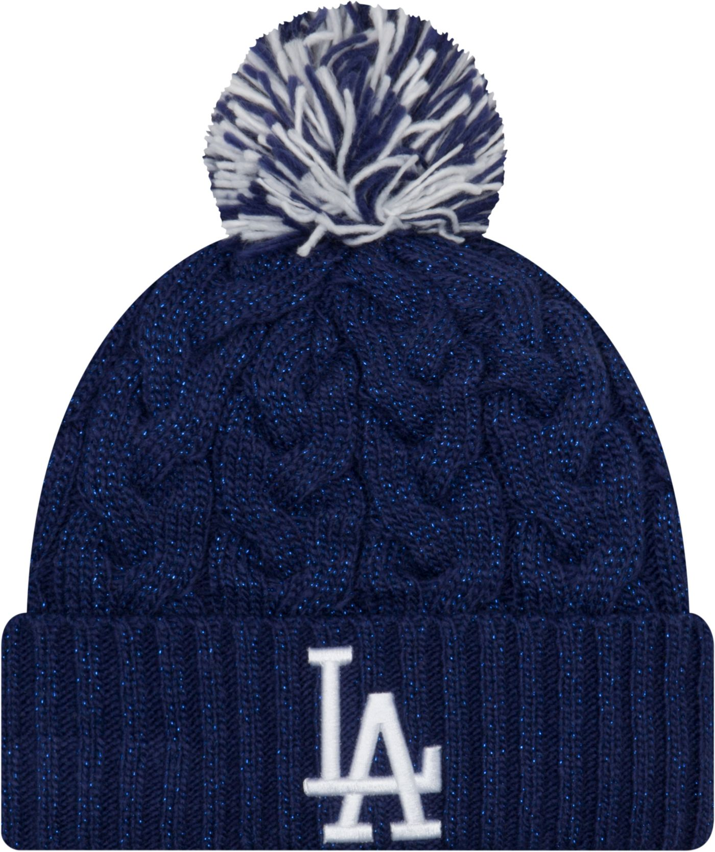New Era Women's Los Angeles Dodgers Cozy Cable Knit Hat