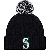 New Era Women's Seattle Mariners Cozy Cable Knit Hat