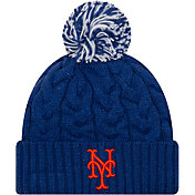 New Era Women's New York Mets Cozy Cable Knit Hat
