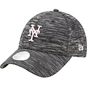 New Era Women's New York Mets Gray 9Forty Tech League Adjustable Hat