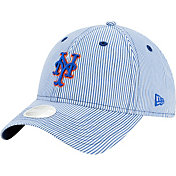 New Era Women's New York Mets Blue Preppy 9Twenty Adjustable Hat