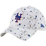 New Era Women's New York Mets White Blossom 9Twenty Adjustable Hat