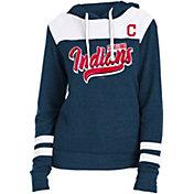 New Era Women's Cleveland Indians Tri-Blend Pullover Hoodie