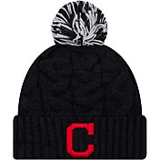 New Era Women's Cleveland Indians Cozy Cable Knit Hat