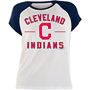New Era Women's Cleveland Indians Tri-Blend T-Shirt