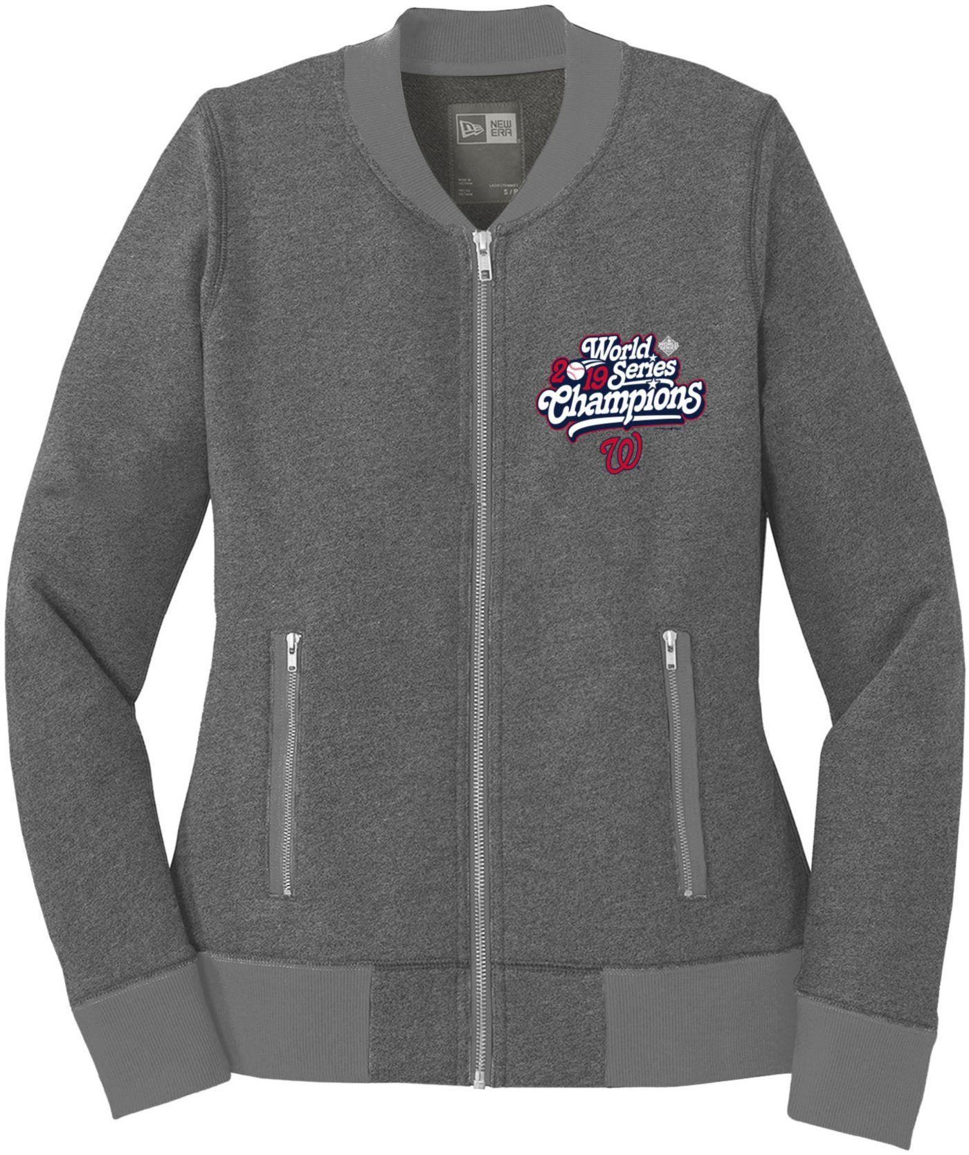 New Era Women's 2019 World Series Champions Washington Nationals Full-Zip Jacket