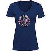 New Era Women's 2019 World Series Champions Washington Nationals Tri-Blend V-Neck T-Shirt