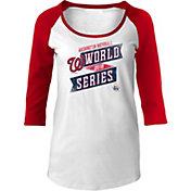New Era Women's 2019 World Series Washington Nationals Three-Quarter Sleeve Shirt