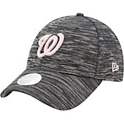 New Era Women's Washington Nationals Gray 9Forty Tech League Adjustable Hat