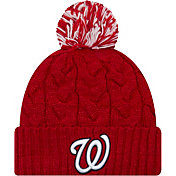 New Era Women's Washington Nationals Cozy Cable Knit Hat