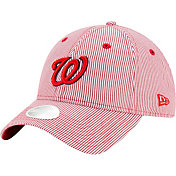 New Era Women's Washington Nationals Red Preppy 9Twenty Adjustable Hat