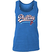 New Era Women's Philadelphia Phillies Tri-Blend Tank Top