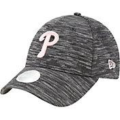 New Era Women's Philadelphia Phillies Gray 9Forty Tech League Adjustable Hat