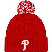 New Era Women's Philadelphia Phillies Cozy Cable Knit Hat