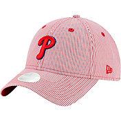 New Era Women's Philadelphia Phillies Red Preppy 9Twenty Adjustable Hat
