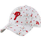 New Era Women's Philadelphia Phillies White Blossom 9Twenty Adjustable Hat