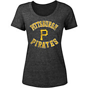 New Era Women's Pittsburgh Pirates Tri-Blend T-Shirt