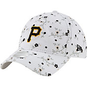 New Era Women's Pittsburgh Pirates White Blossom 9Twenty Adjustable Hat