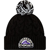 New Era Women's Colorado Rockies Cozy Cable Knit Hat