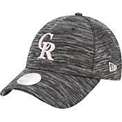 New Era Women's Colorado Rockies Gray 9Forty Tech League Adjustable Hat