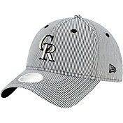 New Era Women's Colorado Rockies Black Preppy 9Twenty Adjustable Hat