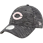 New Era Women's Cincinnati Reds Gray 9Forty Tech League Adjustable Hat